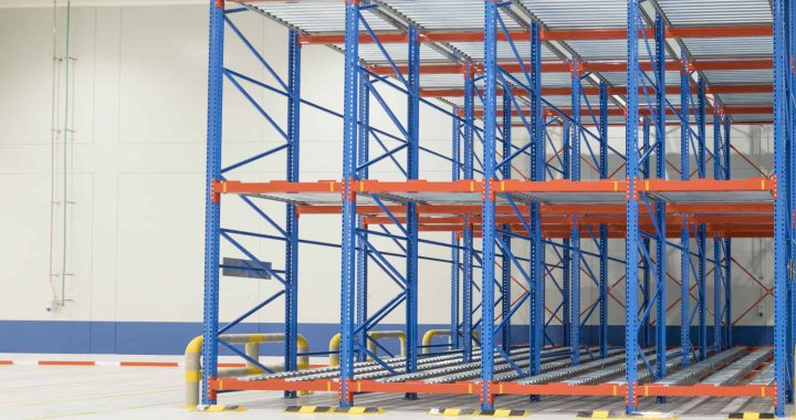 pallet racking types in a warehouse